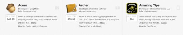 Capture des logiciels sur Indie+Relief