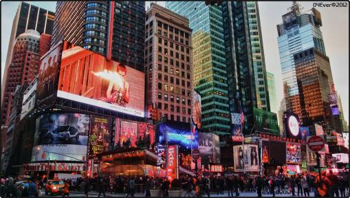 Times Square 2012 par O4Ever©