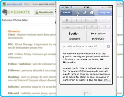 Evernote Mac Aficionados