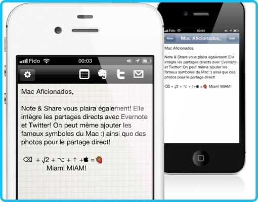 Note and Share Mac Aficionados