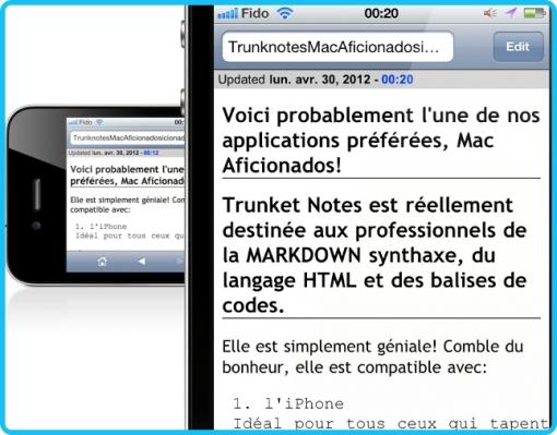 Trunk Notes Mac Aficionados