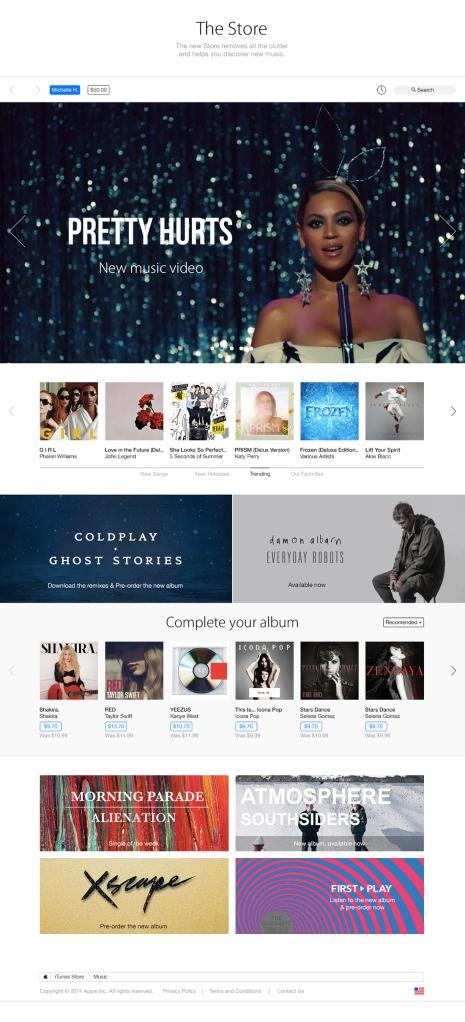 Beyonce iTunes Mac Aficionados