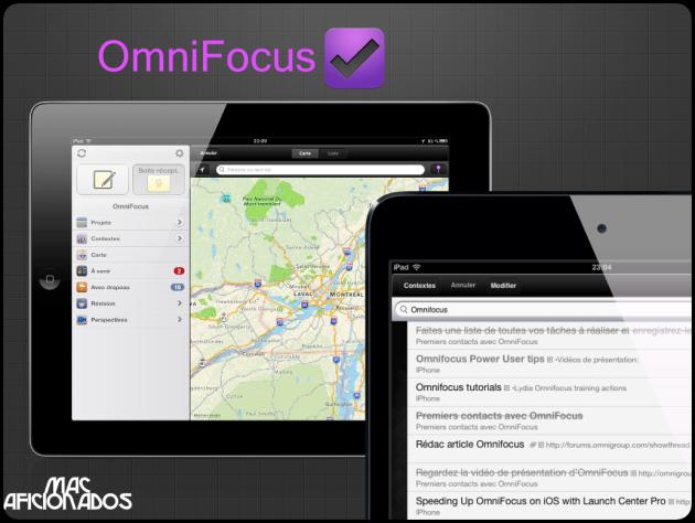 Omnifocus sur Mac Aficionados