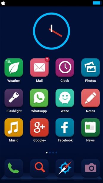 Ariel Verber iOS 7 concept