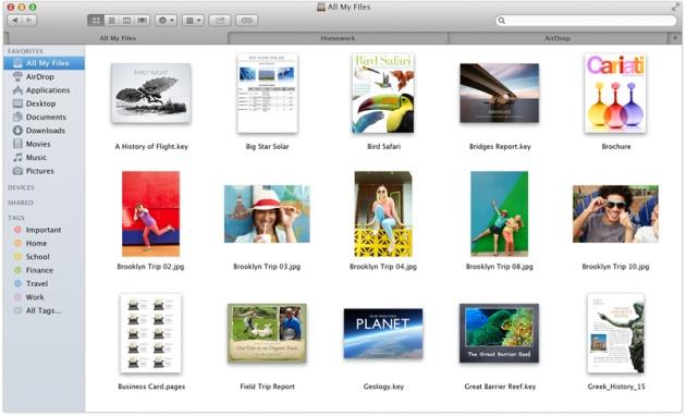 Apple nouveau Finder