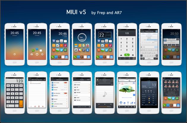 Miui V5 iPhone 5 Mac Aficionados