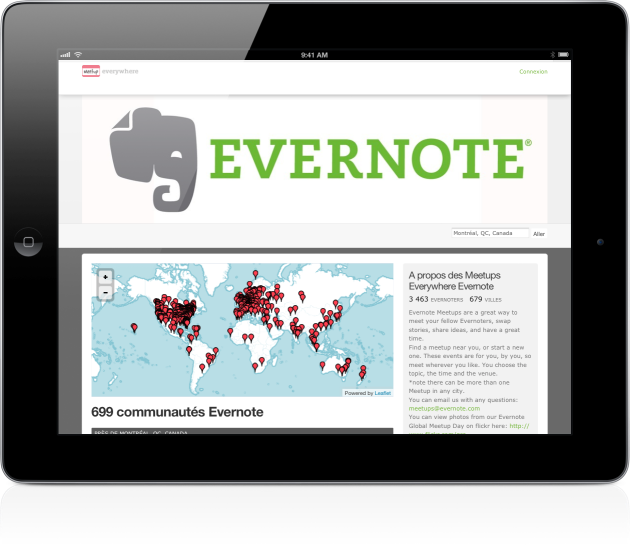 Evernote meetup Mac Aficionados