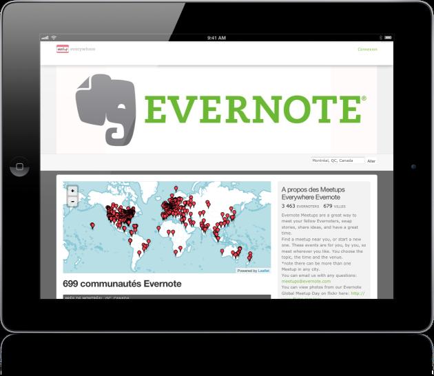 Evernote meetup Mac Aficionados
