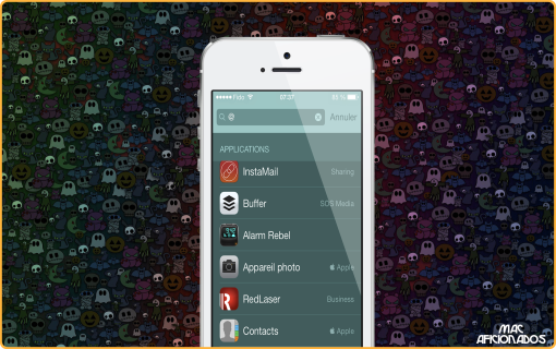 Spotlight recherche iOS 7 iPhone iPad