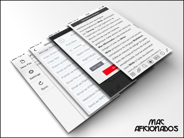 Write app iOS 7 iPhone iPad