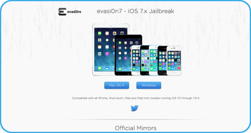 Jailbreak officiel iOS 7 iPhone 5s iPad Air