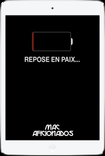 Sauver batterie iOS 7 Mac Aficionados