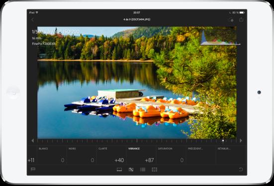 Adobe Lightroom iPad mobile