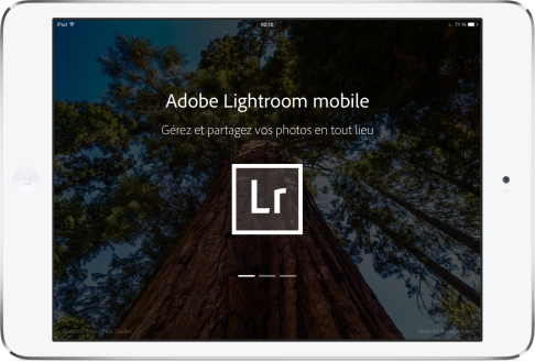 Adobe Lightroom mobile pour iPad