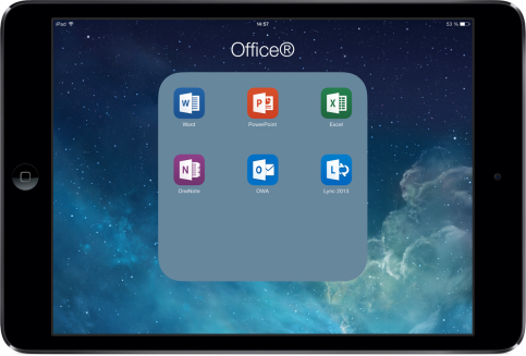 Office 365 sur iPad