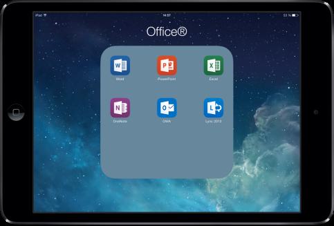 Office 365 sur iPad