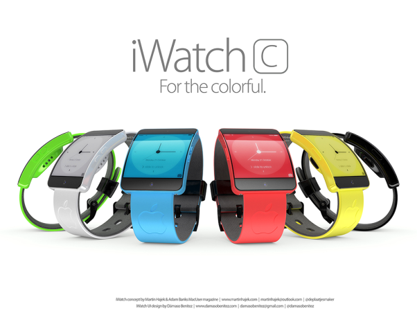 Apple iWatch web colors