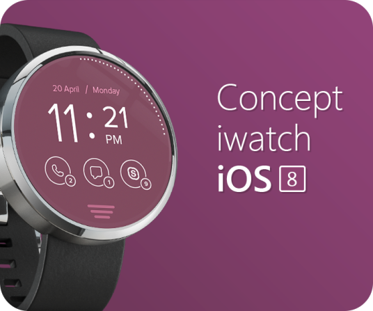 Concept iWatch iOS 8