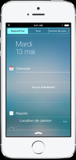 Notifications iOS 8 iPhone 6