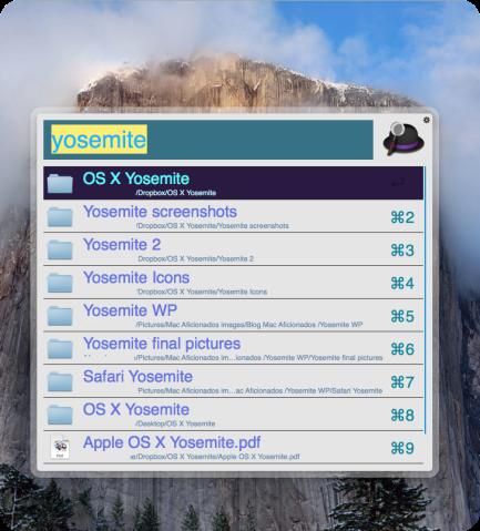 Alfred 2 OS X Yosemite