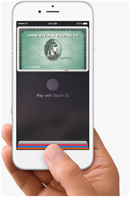 American Express Apple Watch Pay