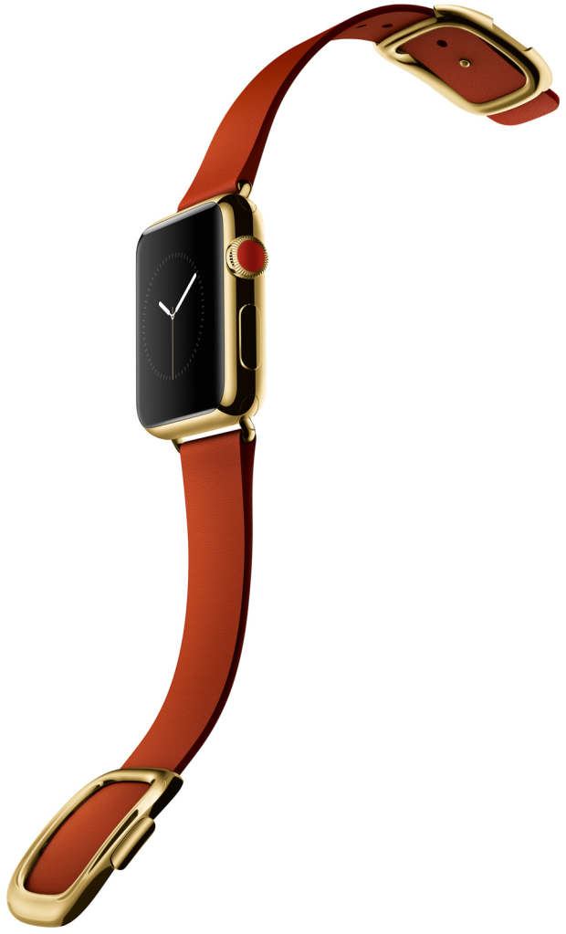 Apple iWatch-edition-gold-red-buckle