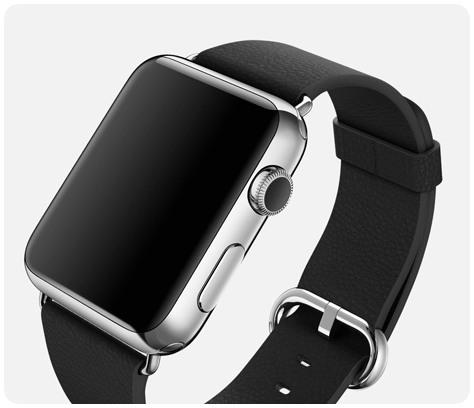 Apple Watch cuir leather classic
