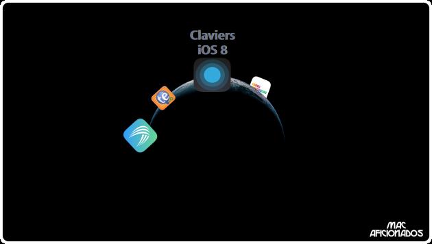 Claviers iOS 8 Mac Aficionados