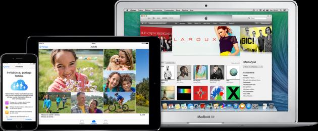 Astuces iOS 8 iCloud configuration