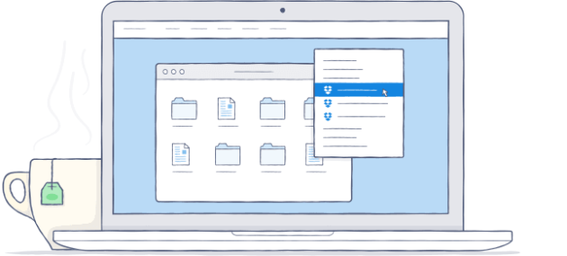 Dropbox OS X Yosemite