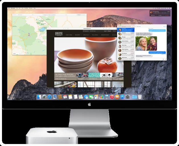 Mac OS X Yosemite Apple