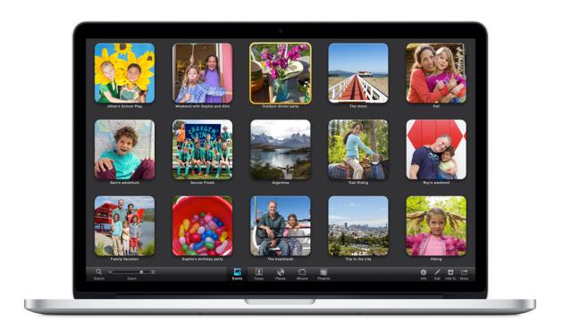 Transferer photos Mac