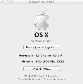 Verifier version OS X