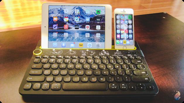 Logitech-clavier-k480-iPad