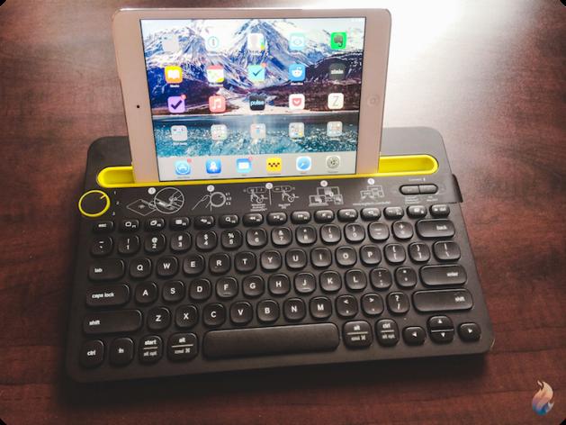 Logitech-keyboard-clavier-k480-iPad