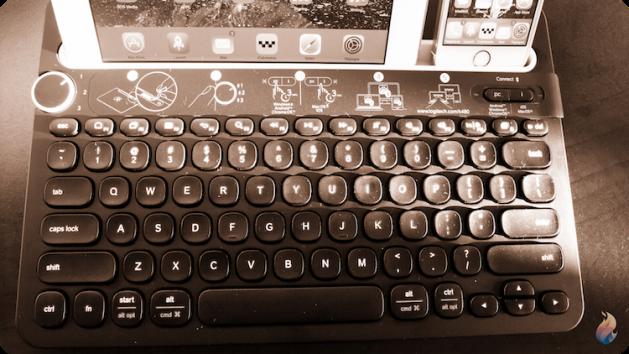 Logitech-keyboard-clavier-k480-sepia